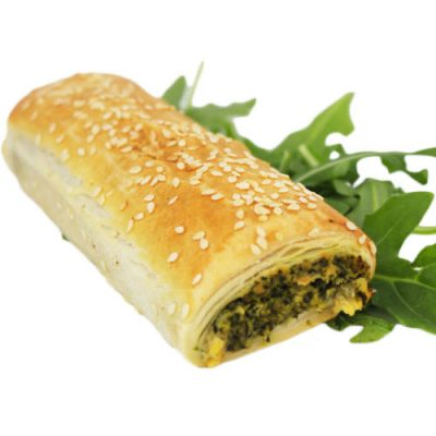 Roll, Spinach & Fetta
