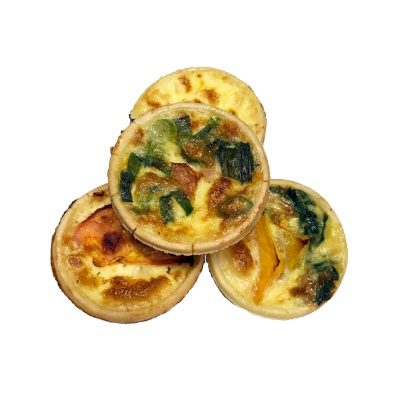 Petit Quiche, Assorted, 12